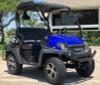 Blue - Fully Loaded Cazador OUTFITTER 200 Golf Cart 4 Seater Street Legal UTV