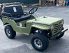 Ice bear Jeep Off-Road 125cc Mini Go-Kart/ Golf Cart - Disc Brakes - Over-Size Tires