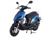 Taotao New Speed 50---Replaceable Plastic Body Gas Street Legal Scooter