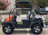 Orange- Fully Loaded Cazador OUTFITTER 200 Golf Cart 4 Seater Street Legal UTV - Fully Assembled and Tested