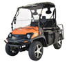ORANGE - MASSIMO BUCK 200X UTV, 177cc Four-Stroke, Single Cylinder