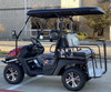 BURGUNDY - Cazador Outfitter 200x Fully Loaded Golf Cart 4 seater