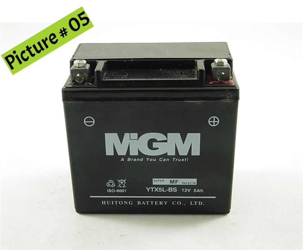 12V Battery - 12V 5Ah