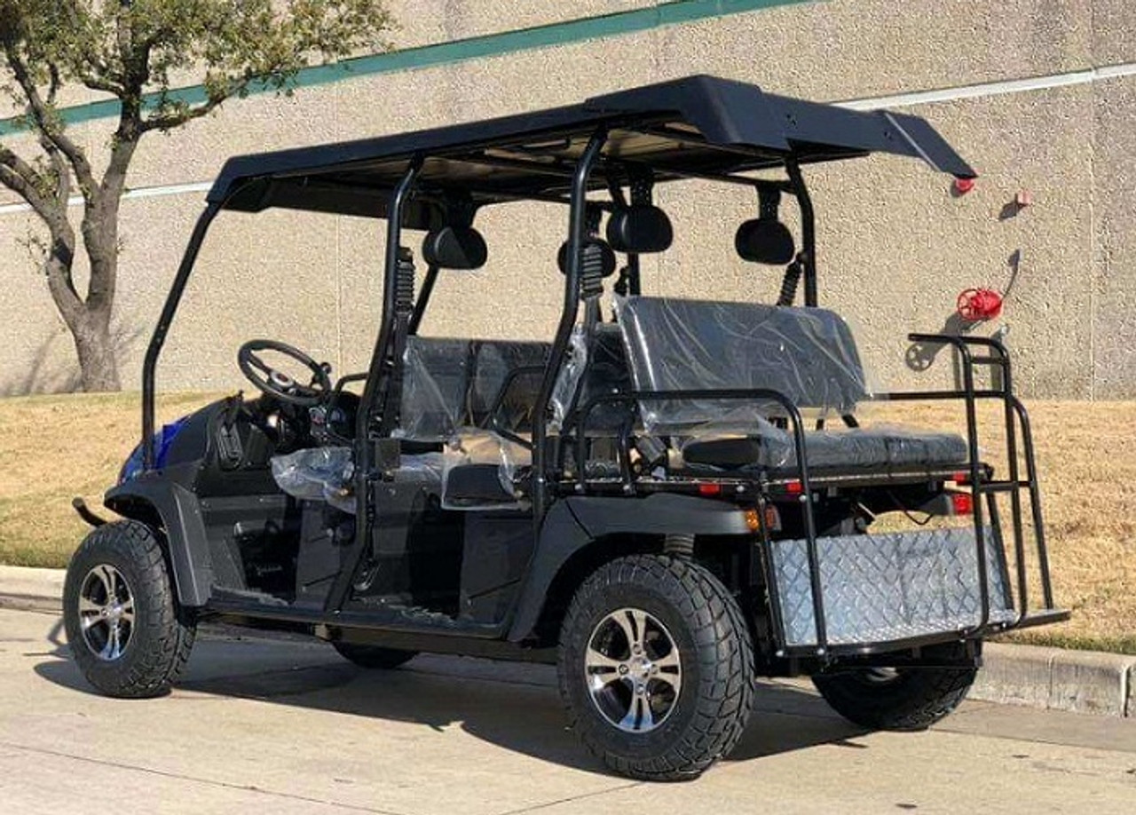 New 6 Seater 400cc Fuel Injection 4x4 Limo Golf Cart