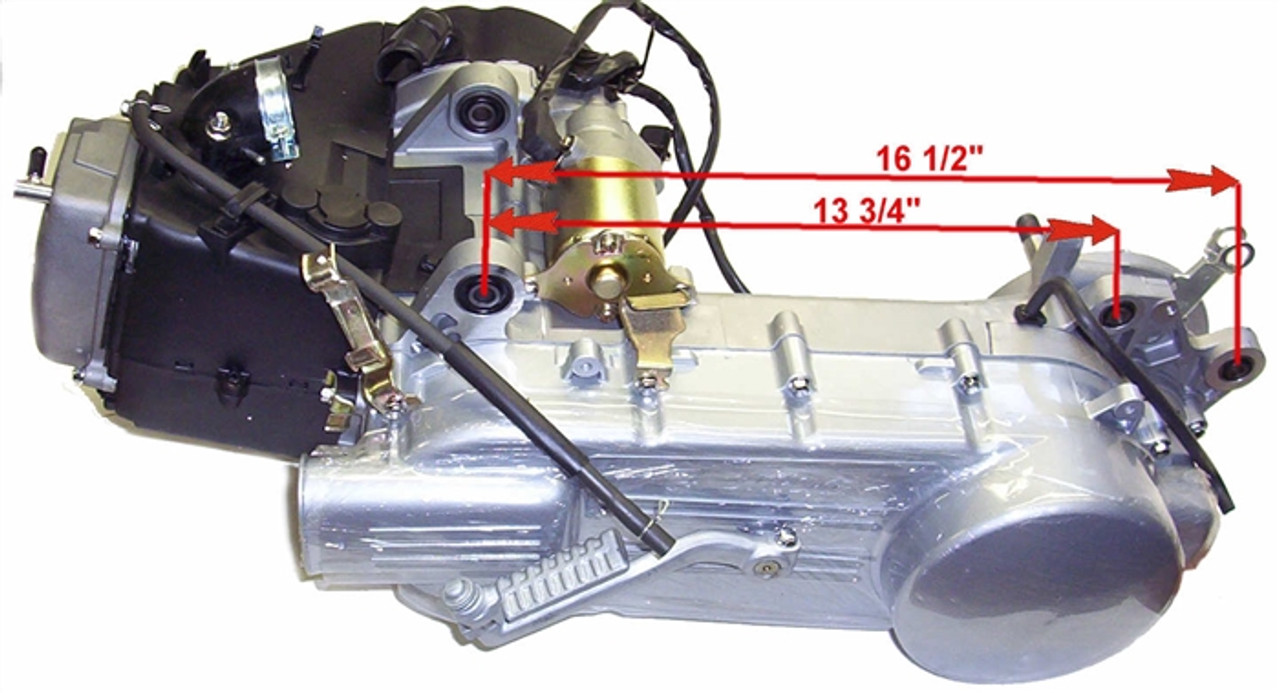 ENGINE (150 cc LONG CASE ) 90005-X1-5