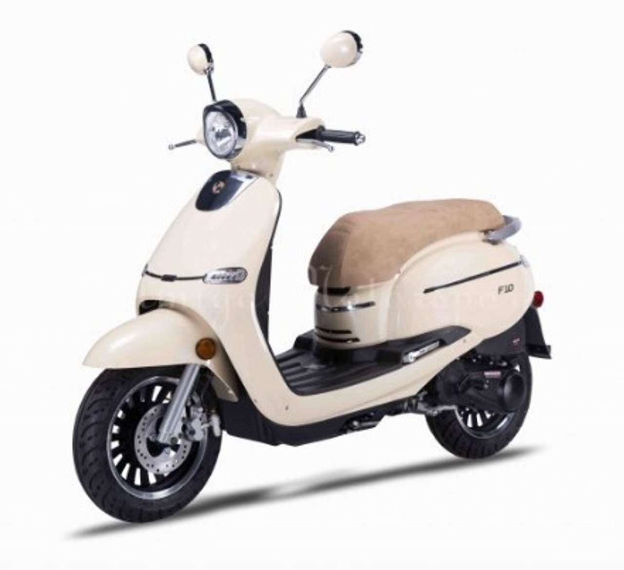 Amigo 2017 F10-50 49cc Street Legal Scooter, 4 stroke with 8.5 HP Air Cooled