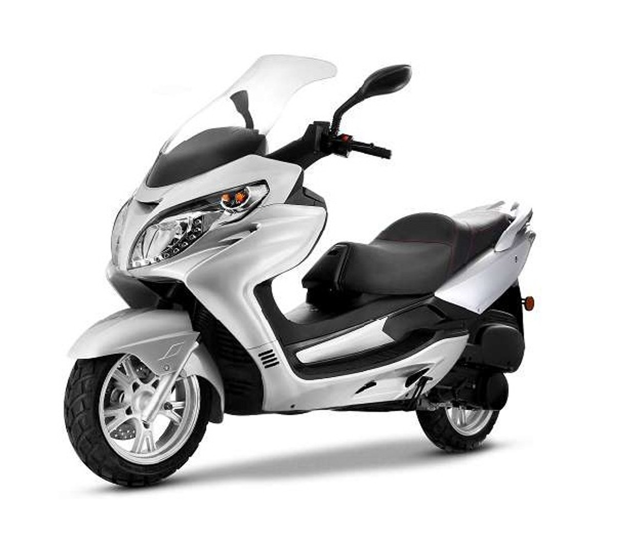 Amigo Znen 2018 VISTA-150 149cc Street Legal Scooter, 4 Stroke with 8.5 HP @ 7000 RPM Air Cooled