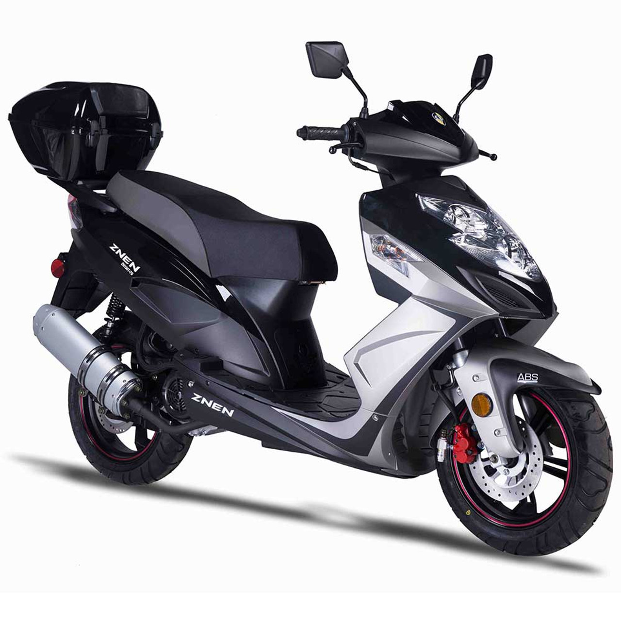 Amigo Znen 2017 ZN150T-7G 149cc Street Legal Scooter, 4 stroke 8.5 HP @ 7000 RPM Air Cooled