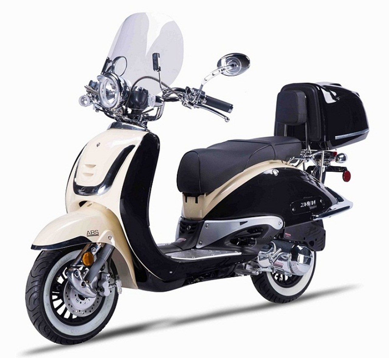 Amigo Znen ZN50T-G-50 49cc Moped 4 Stroke Single Cylinder CA Approved