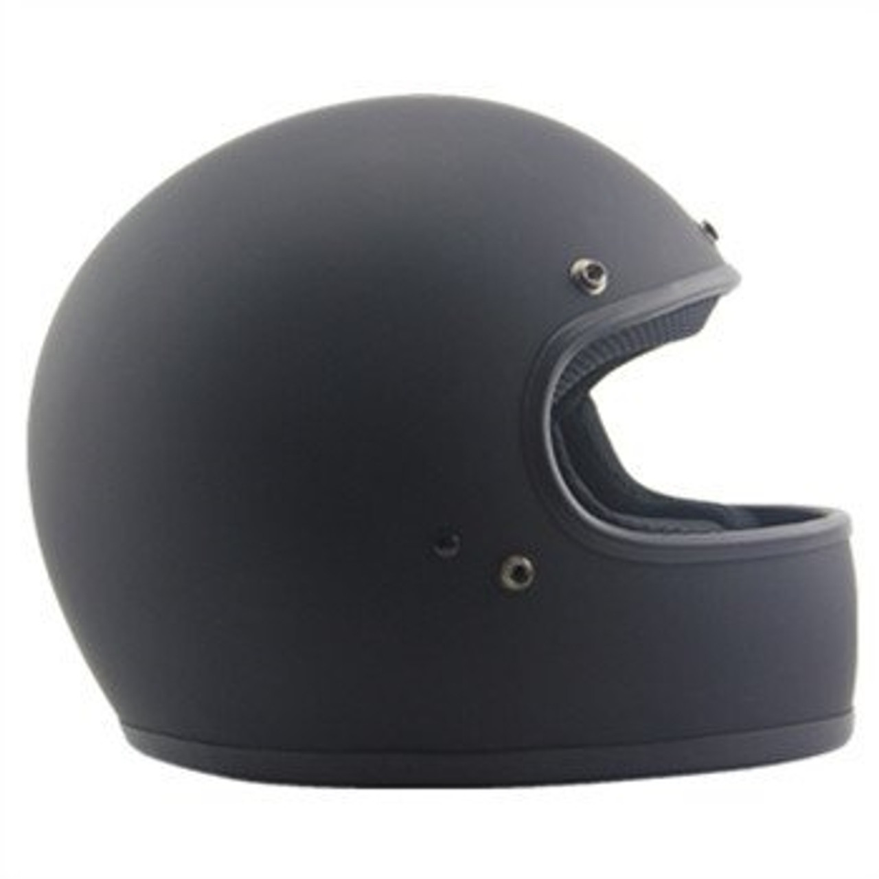 AMZ EXCELOR FULL FACEMATTE BLACK HELMET