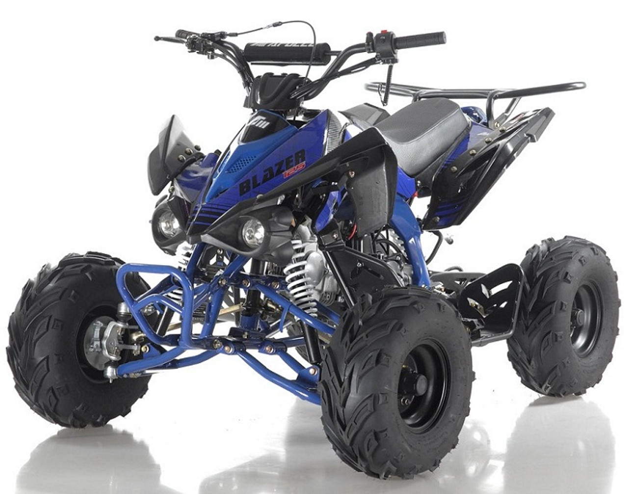 "Apollo BLAZER 7 125cc ATV, 7"" TIRE, Single Cylinder, Air Cooled, 4 Stroke"