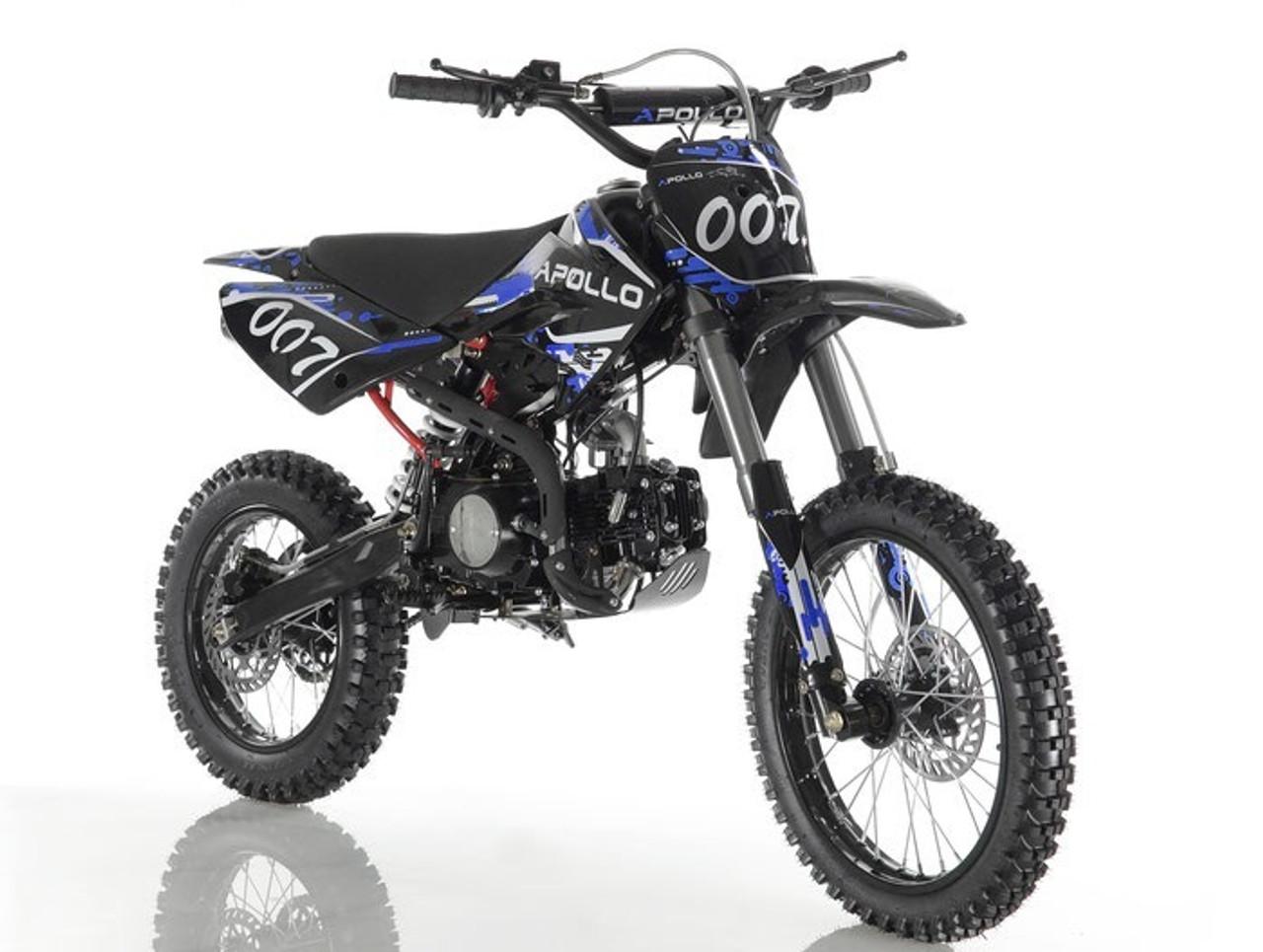 APOLLO DB-007 125cc Manual Clutch 4 Gears Dirt Bike, 4 stroke, Single Cylinder