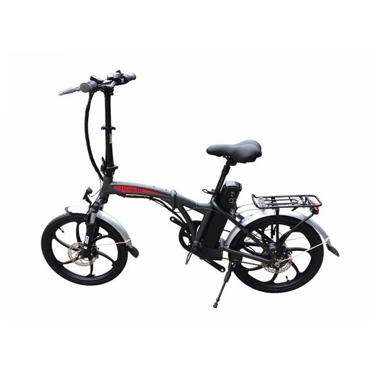 Bintelli F1 Folding Electric Bicycle, 250 Watt Motor