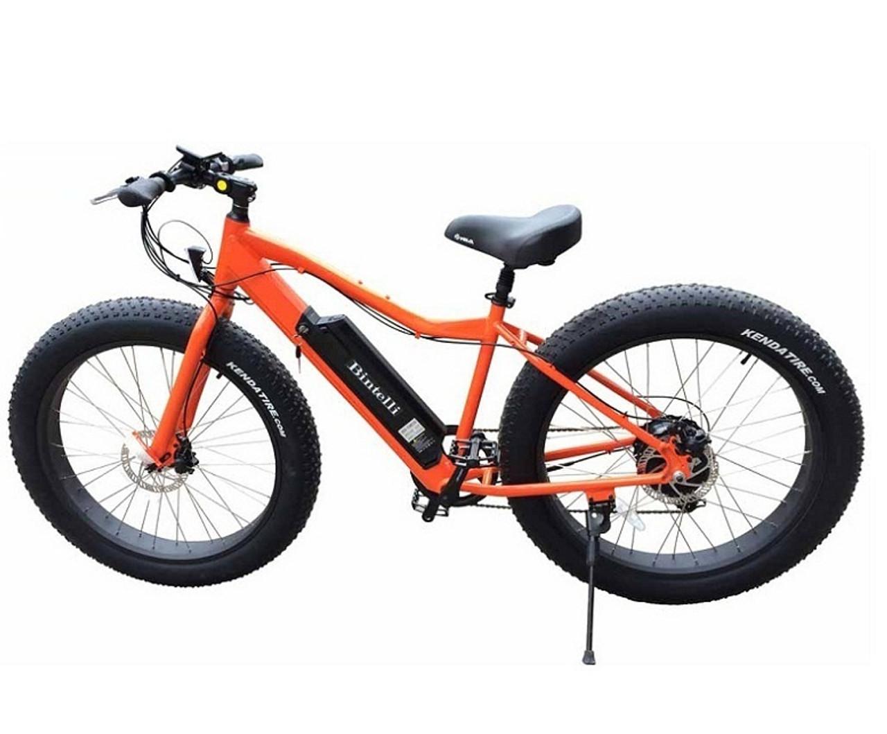 Bintelli M1 Electric Bicycle, 48V 750w, Rear-Mounted Brushless Hub
