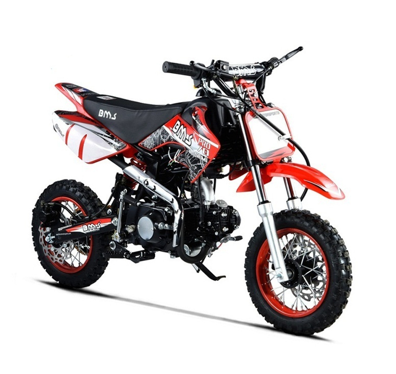 BMS PRO 70 SEMI, 70CC SINGLE CYLINDER 4-STROKE, AIR COOLED