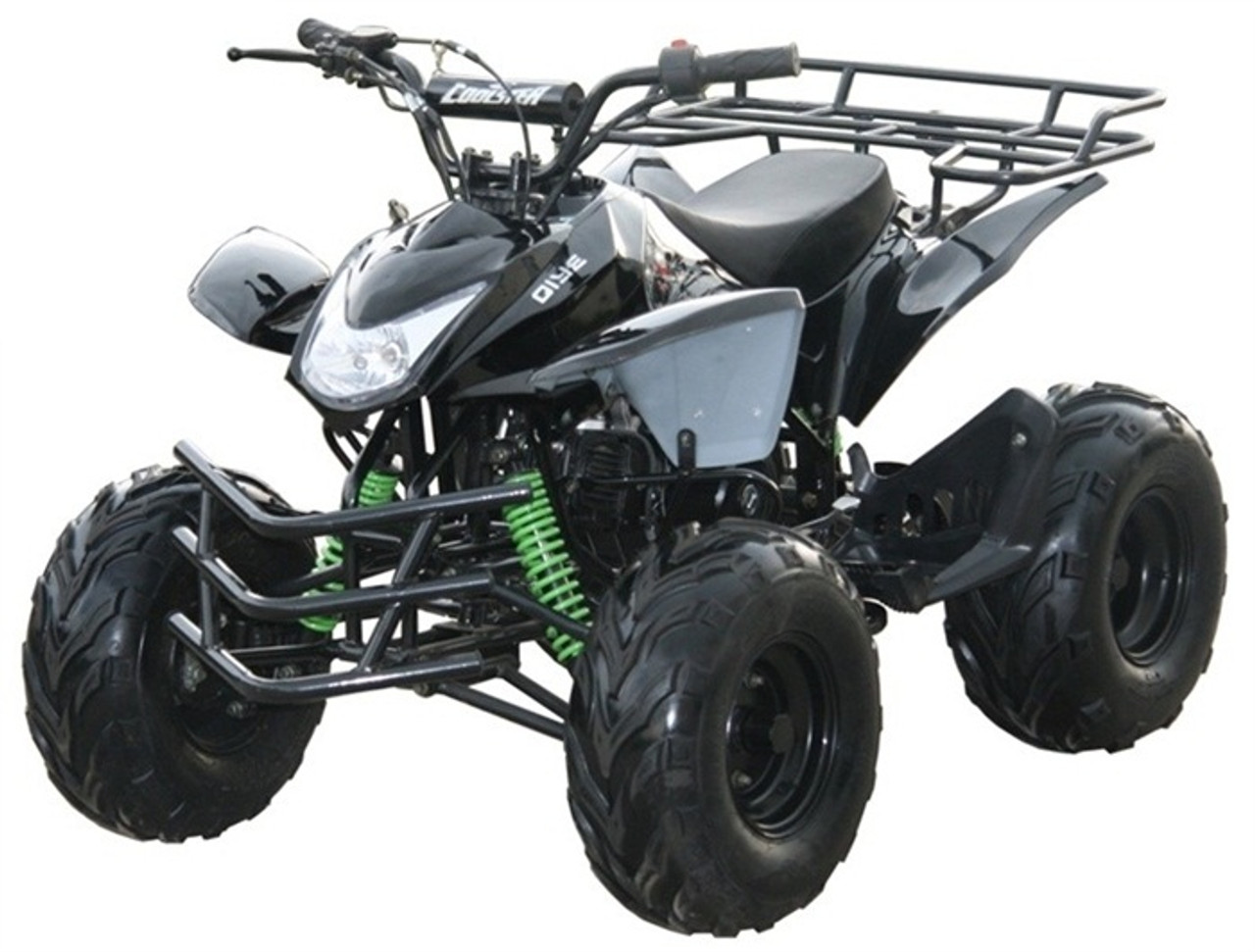 Coolster 3125A Mountain-HD125 Mid Size ATV, Air Cooled, Single Cylinder 4-Stroke Auto w/ Reverse