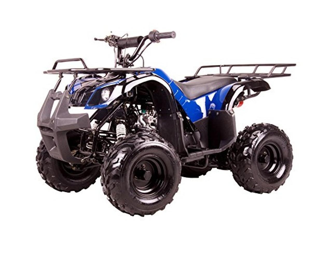 "Coolster ATV-3050D Kodiak-Hd 110CC Youth Atv - Big 16"" Tires, 110CC Air Cooled, Single Cylinder, 4-Stroke"