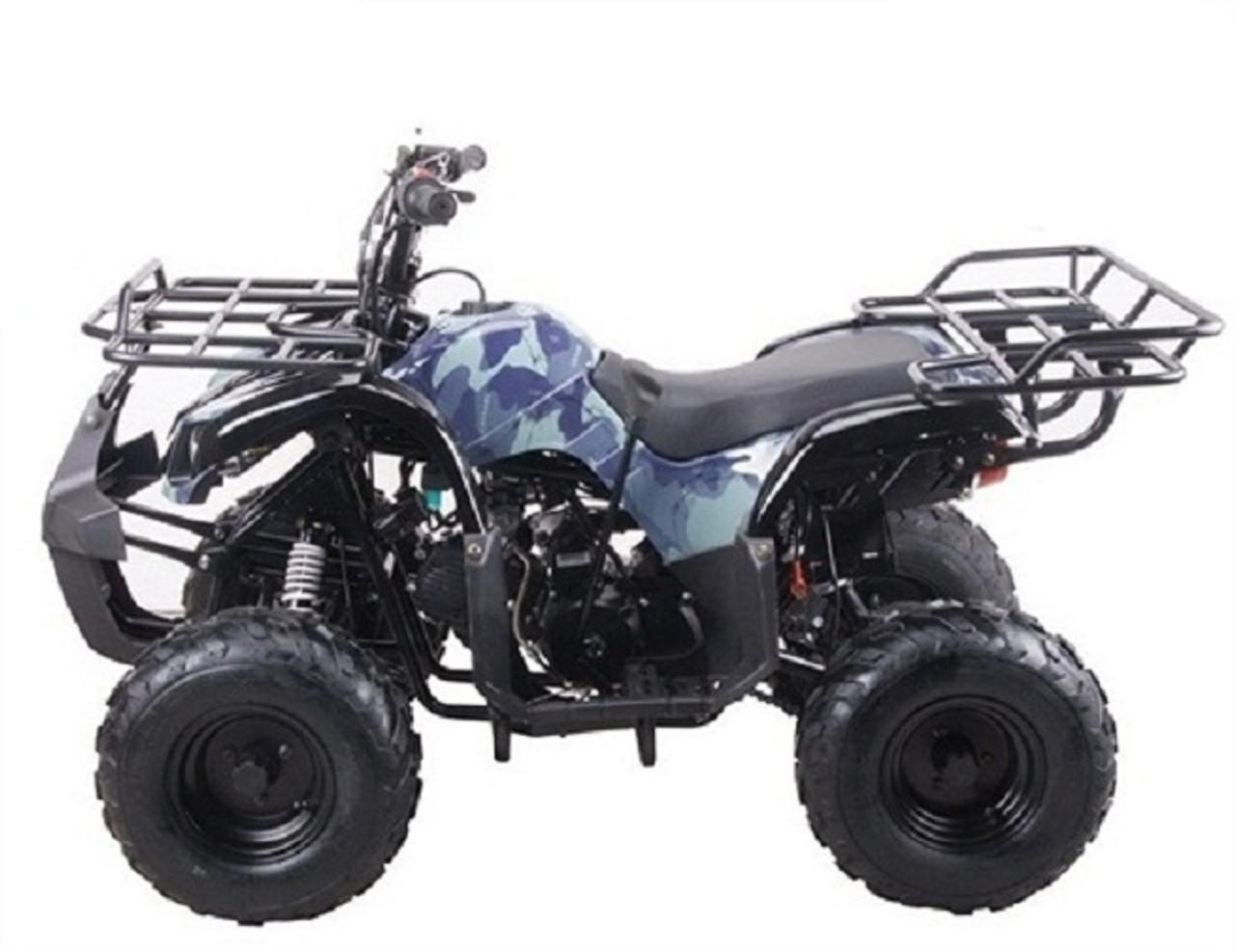 "Coolster ATV-3125R KODIAK-HD 125CC ATV with REVERSE Big 16"" Tire, 125CC Single Cylinder, 4-Stroke, Air-Cooled"