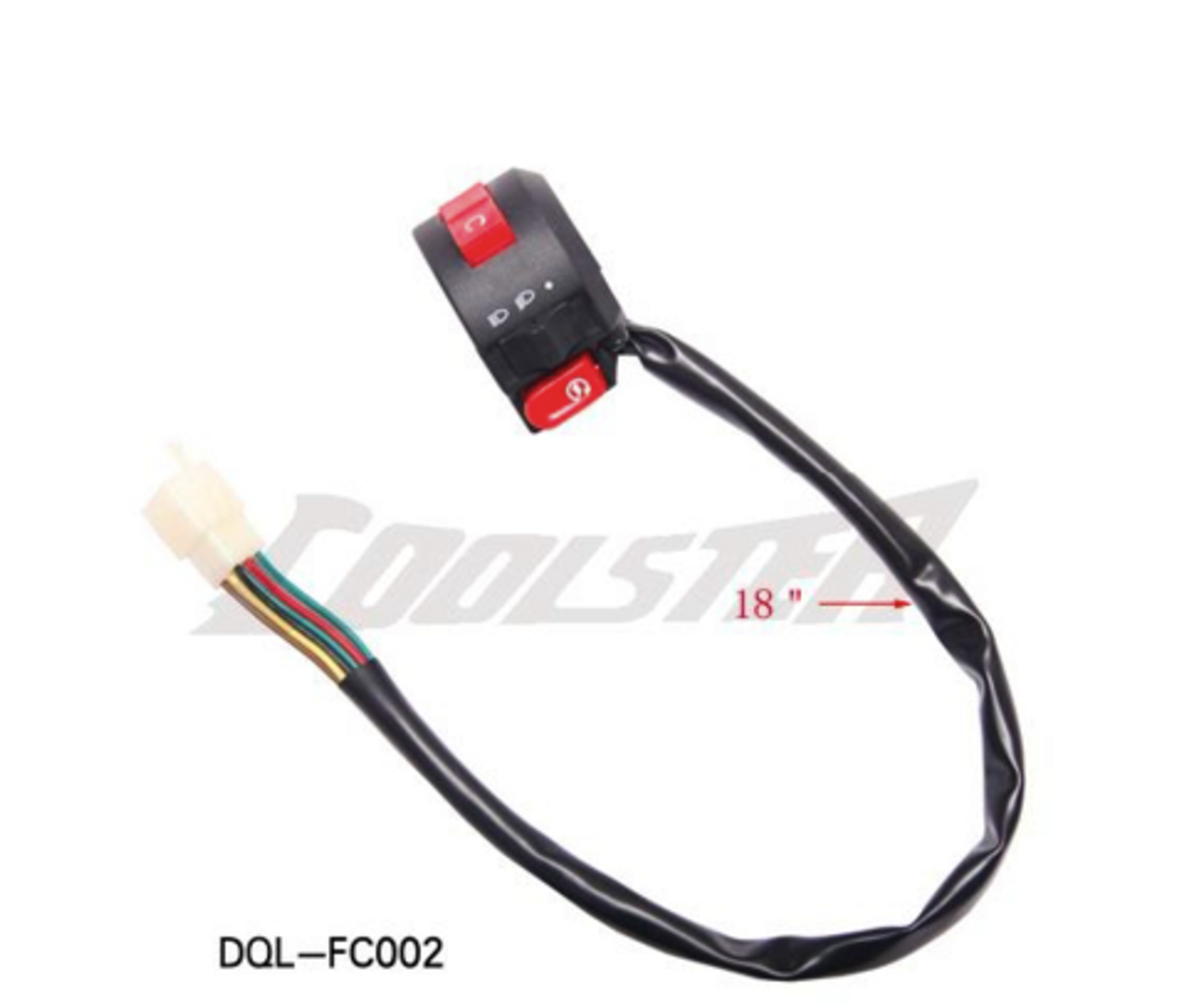 HANDLE BAR SWITCH ASSY FOR COOLSTER ATV