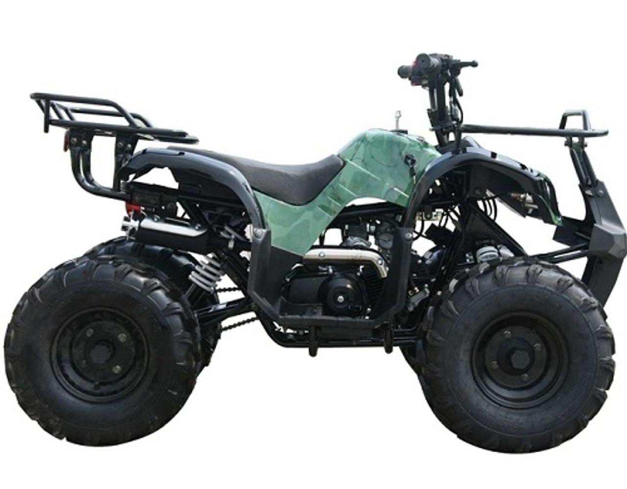 kodiak-hd 125cc mid size atv with reverse