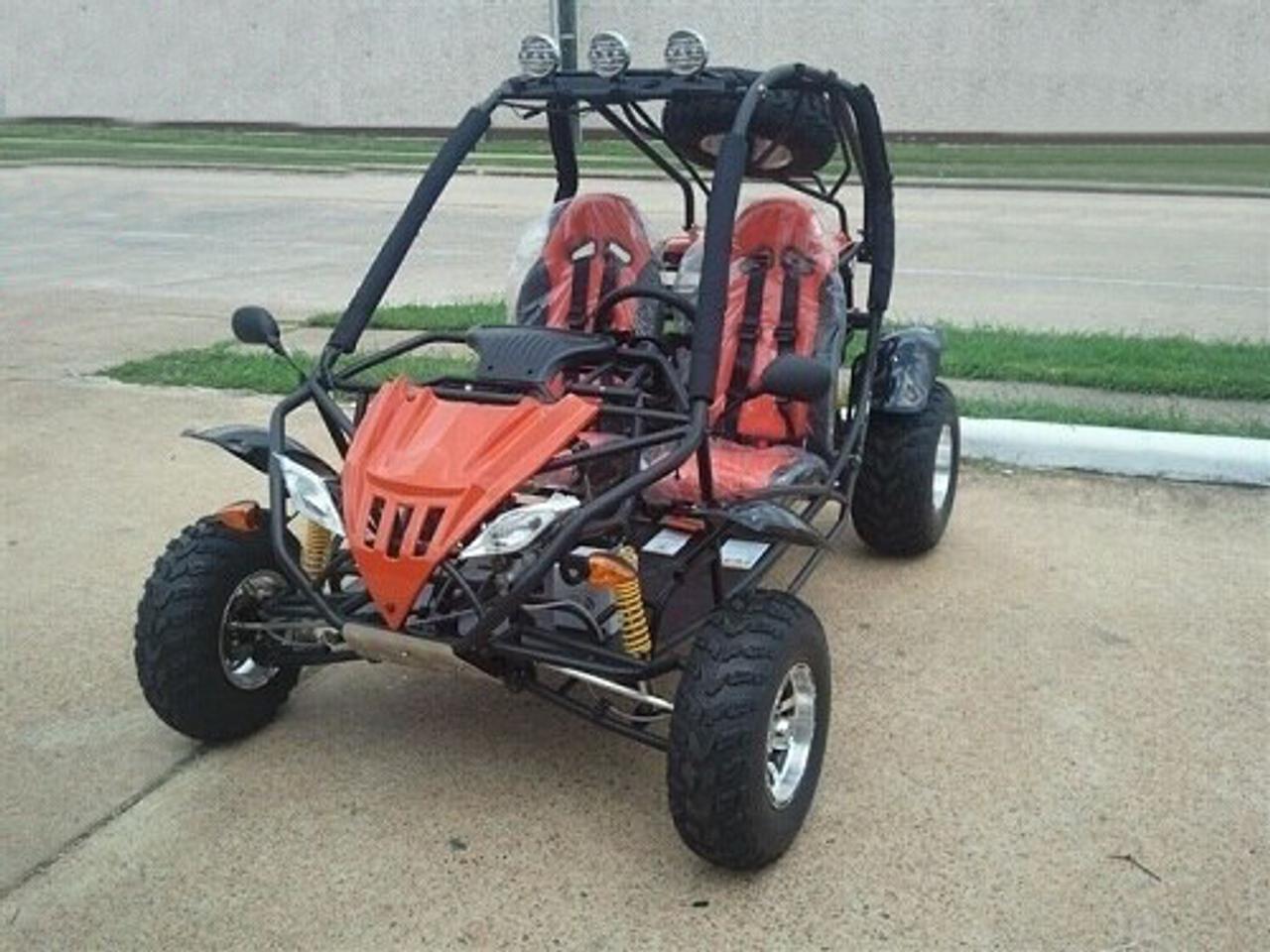 Vitacci JAGUAR-200 (169cc) DELUXE Go Kart, Single-Cylinder, 4-Stroke, Horizontal Type, Air-Cooled