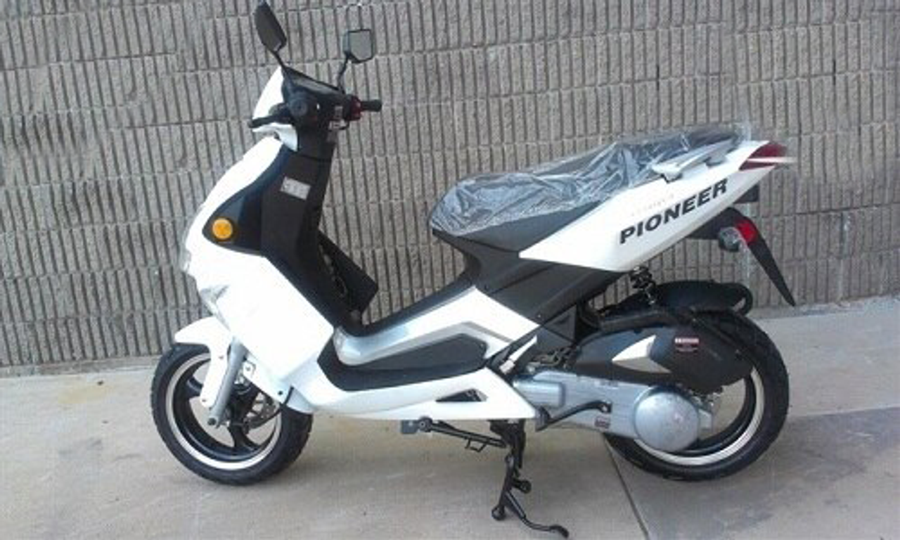 Vitacci PIONEER 150cc Scooter, 4 Stroke, Air-Forced Cool,Single Cylinder