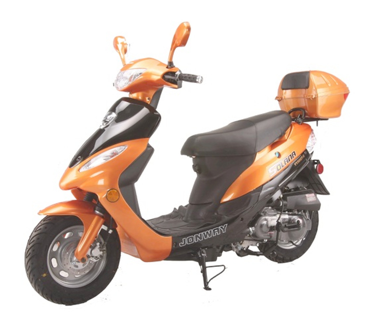 Cougar Cycle SOLANA 49cc QT-5 Scooter, 4 Stroke, Air-Forced Cool, Single Cylinder - Fully Assembled and Tested