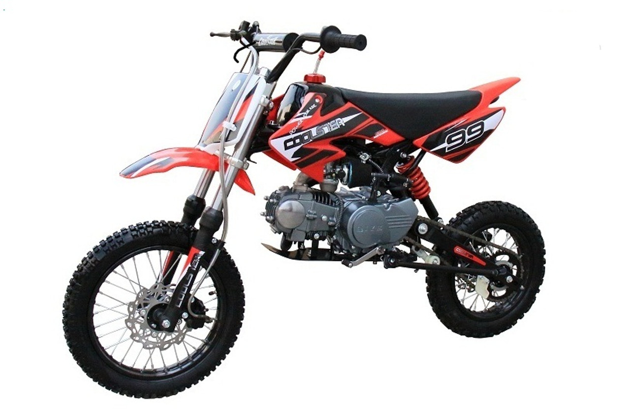 Coolster 125cc Semi Auto Mid Size Dirt Bike Air-Cooled Engine - QG-214S