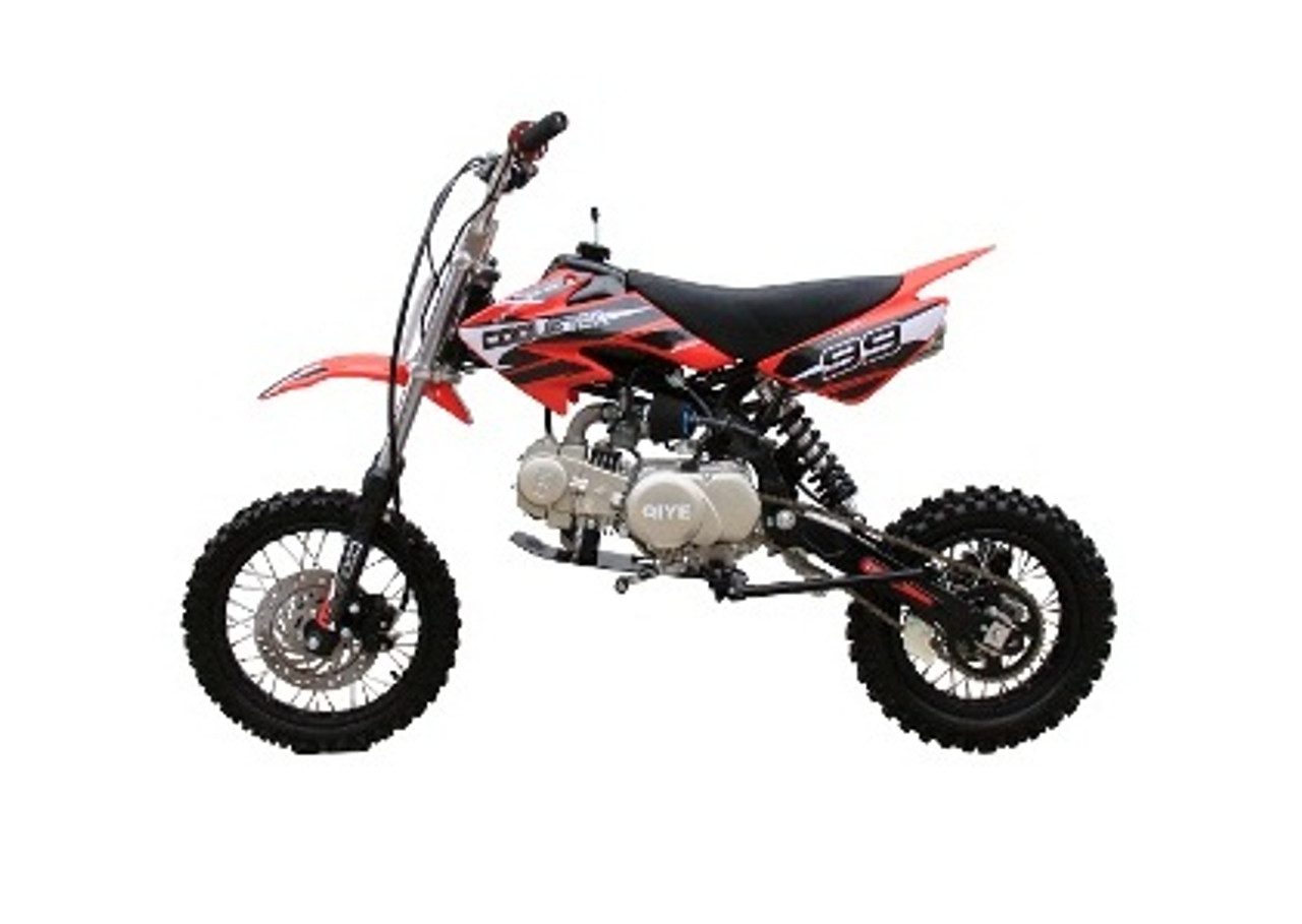 Coolster 125cc Mid Size XR-125 Dirt Bike, 4-Stroke, Air-Cooled Single Cylinder