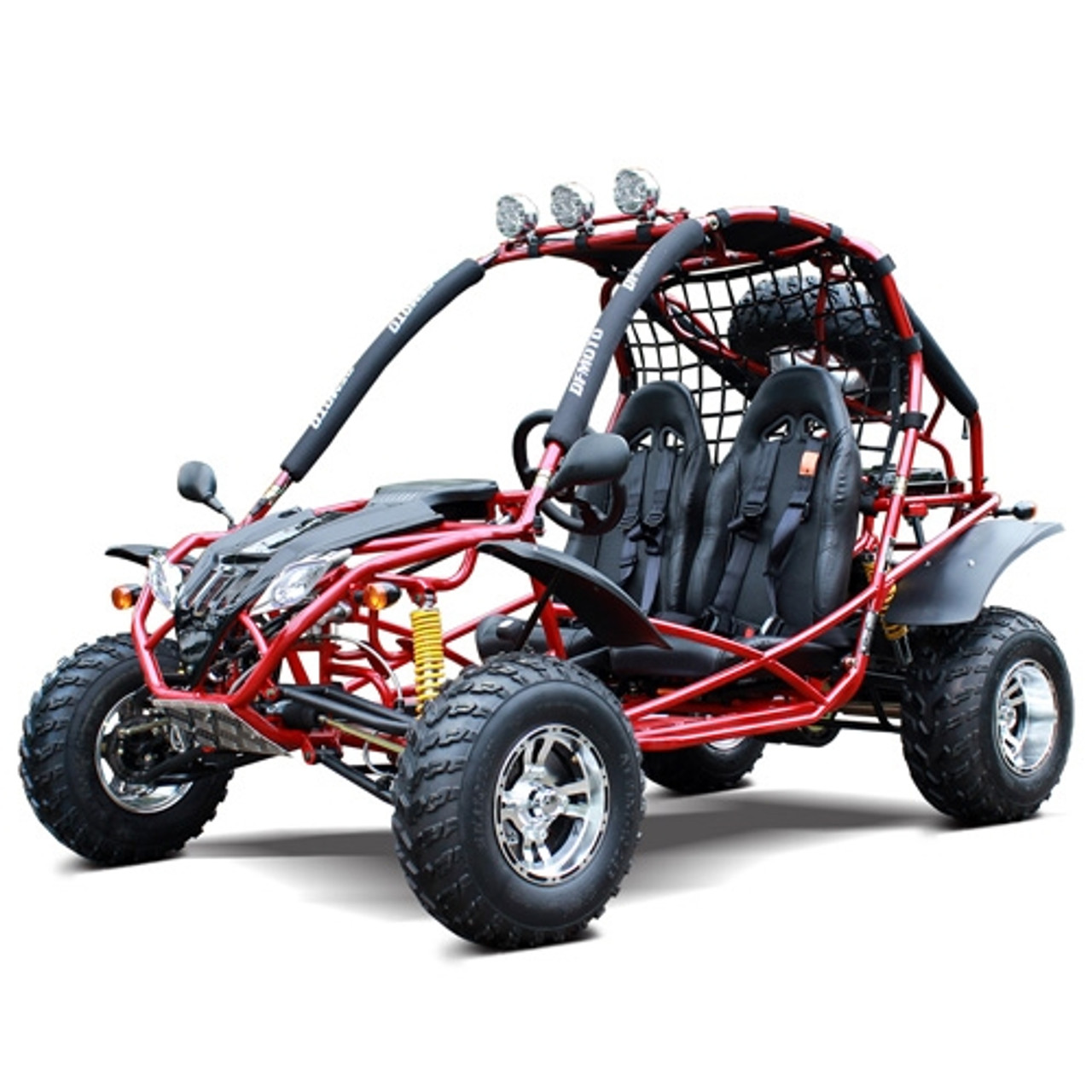 Dongfang 200 Go Kart Type A New Upgraded Alloy Wheels,Headlights