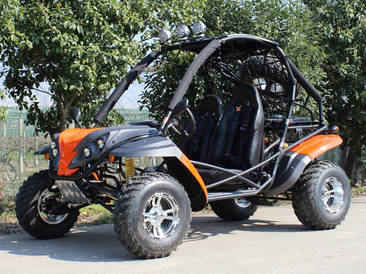 Dongfang DF200GKR 168.9CC Go Kart, Single Cylinder, Horizontal Type, 4-Stroke, Air-Cooled
