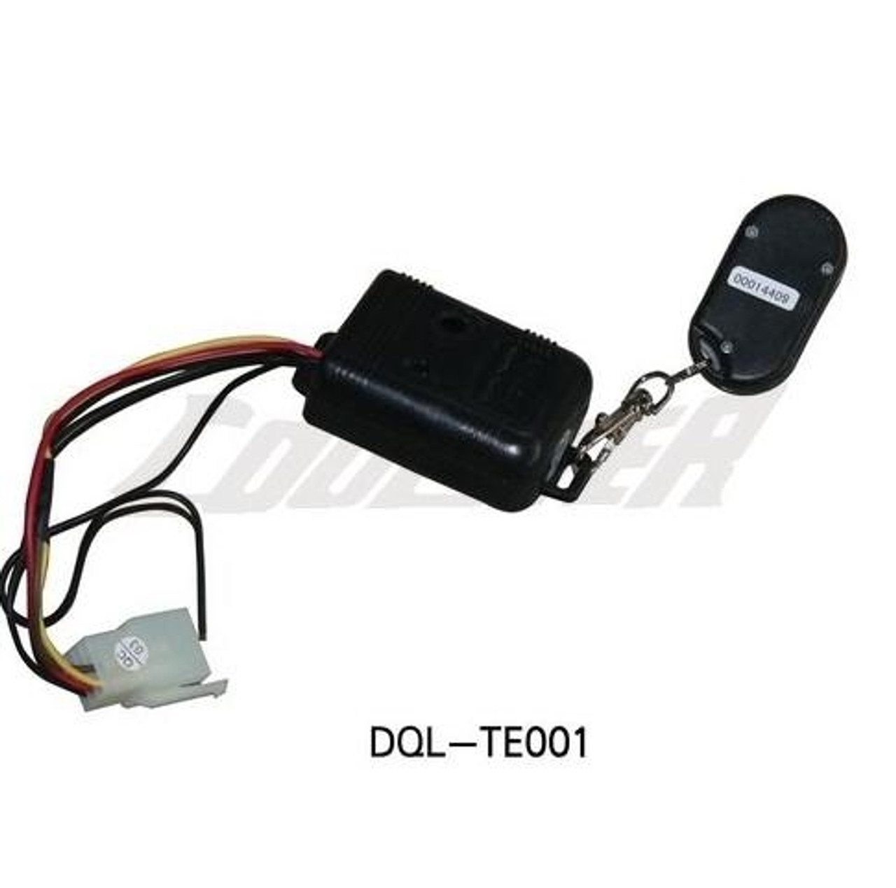 ALARM AND REMOTE CONTROL FOR COOLSTER ATV