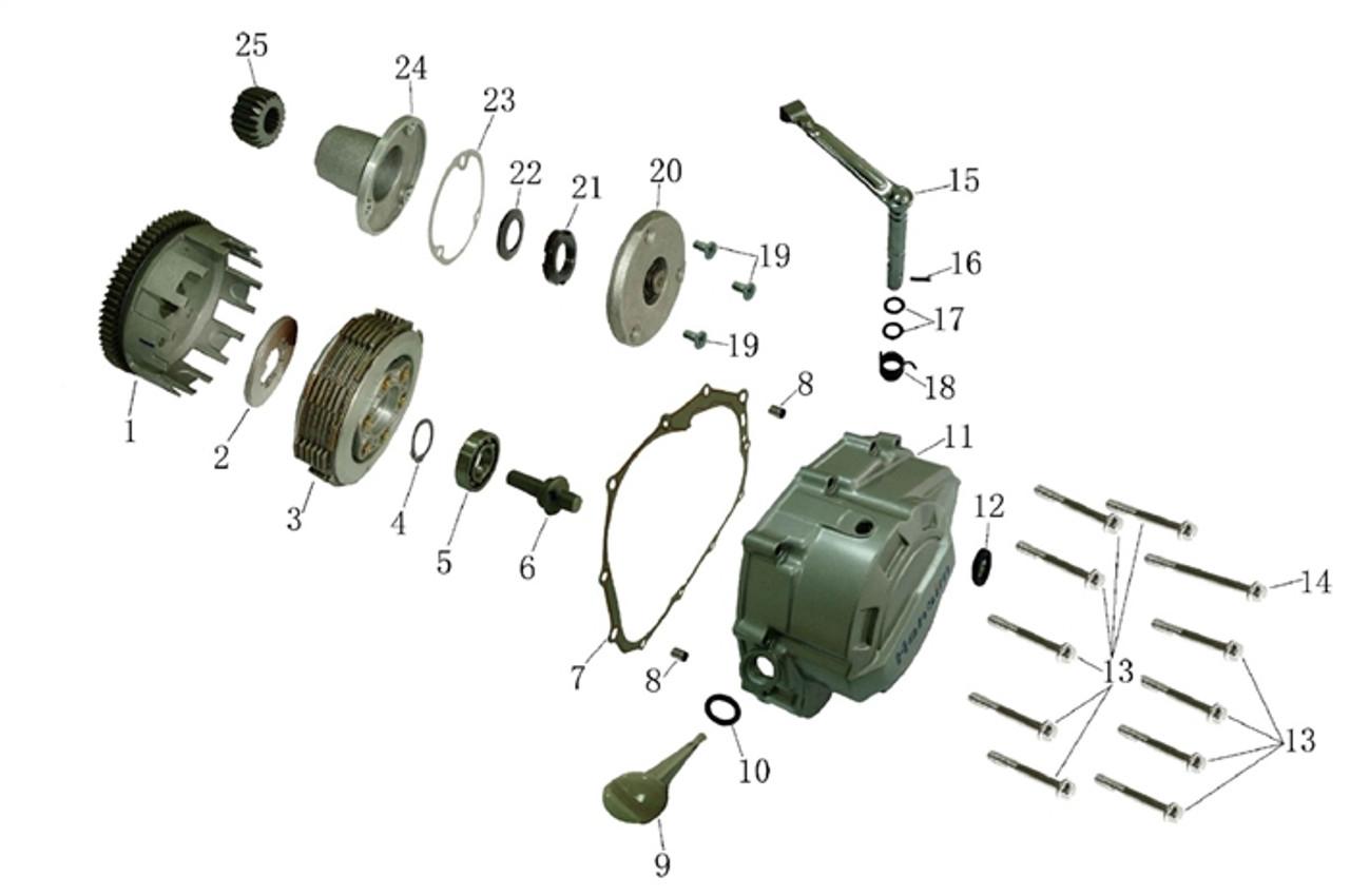 Hawk 250 Gasket