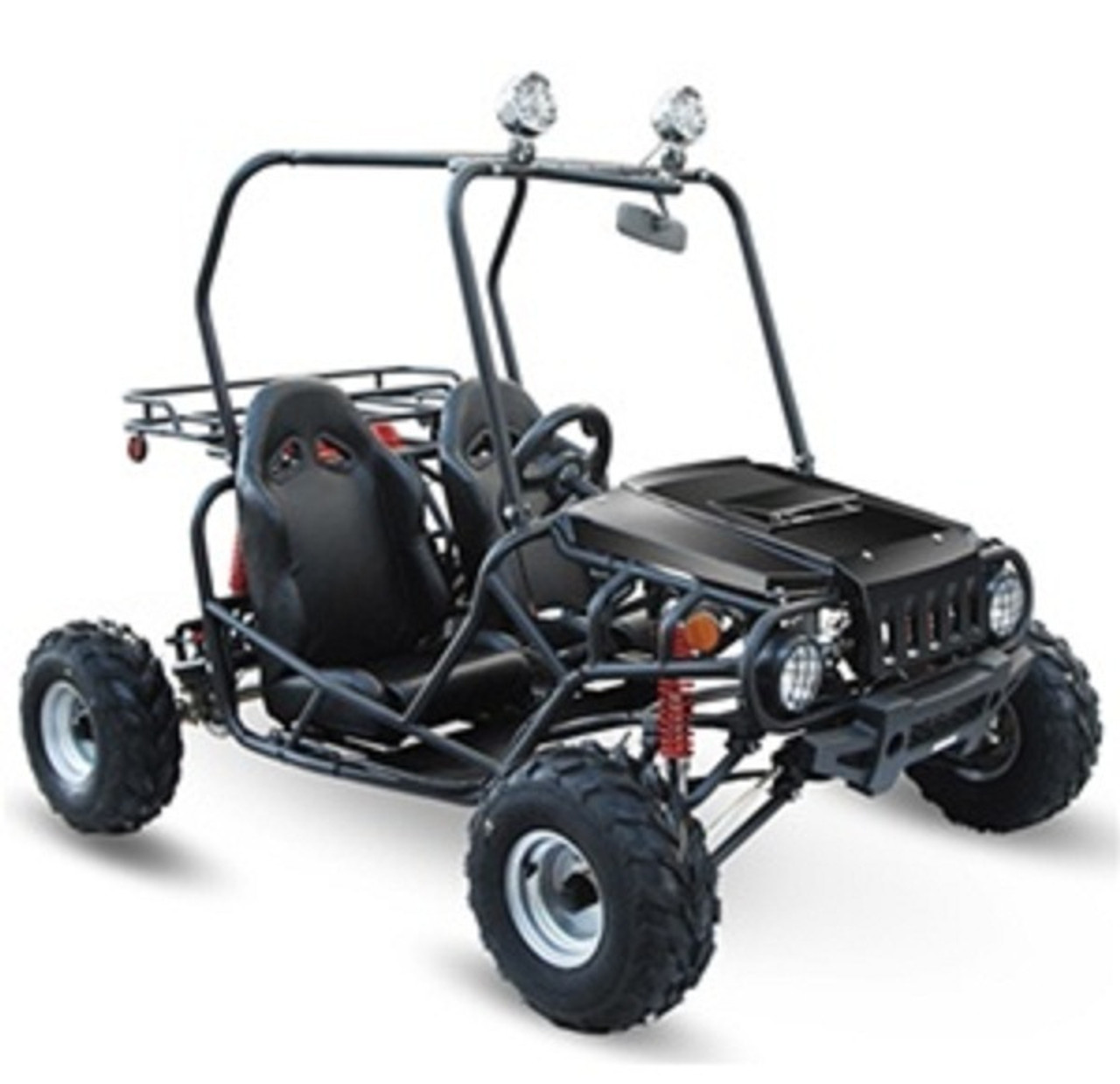 Taotao ATK125A 110CC, Air Cooled, 4-Stroke, 1-Cylinder Electric Start Go Kart - Fully Assembled and Tested