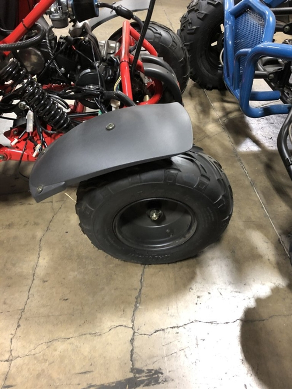 COOLSTER GO KART REAR TIRE AND RIM SET