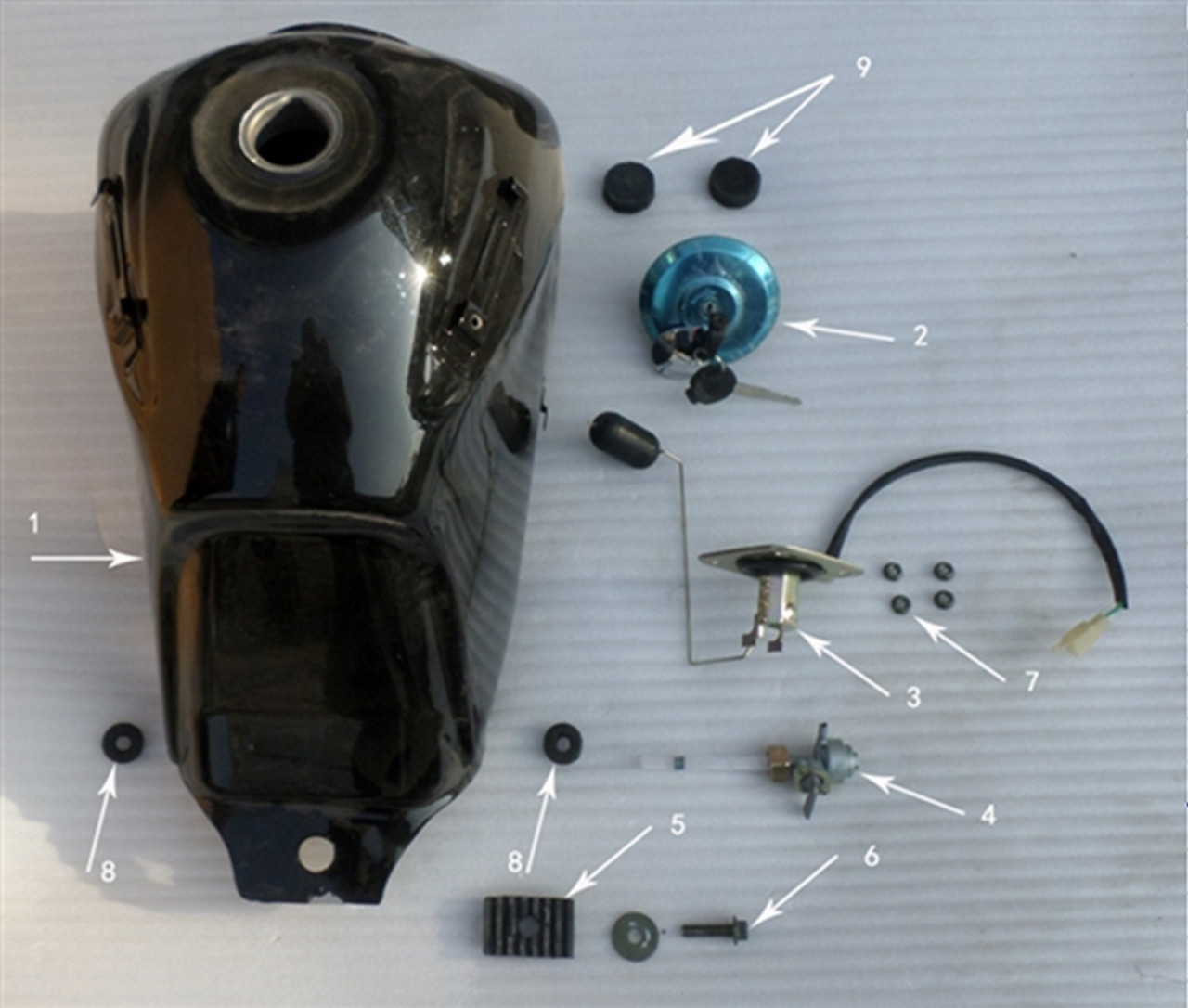 Hawk 250 Gas tank