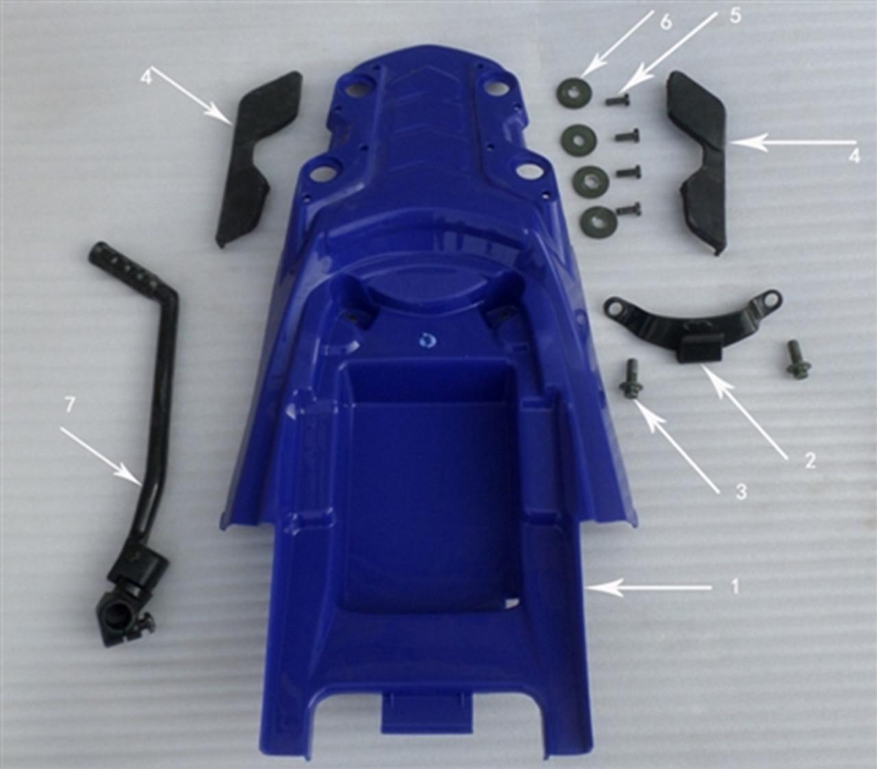 Hawk 250 Seat Hook