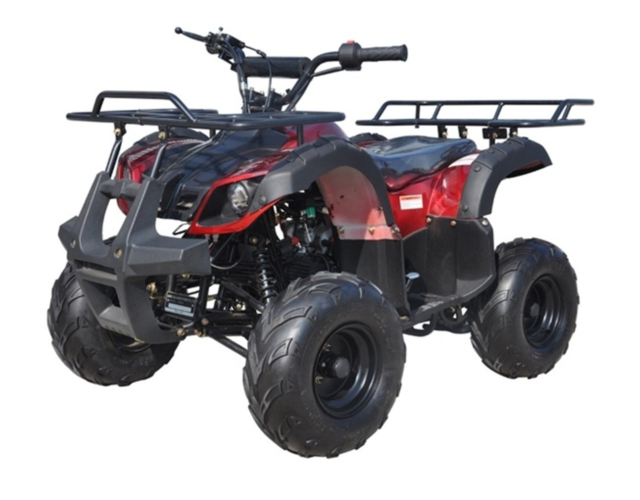 "Ice Bear 125CC Youth Quad Atv Automatic With Reverse, Remote Kill, 7"" Wheel (Pah125-8S), Air Cooled, 4-Stroke,"