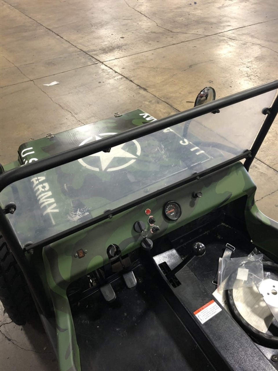 COOLSTER JEEP WINDSHIELD
