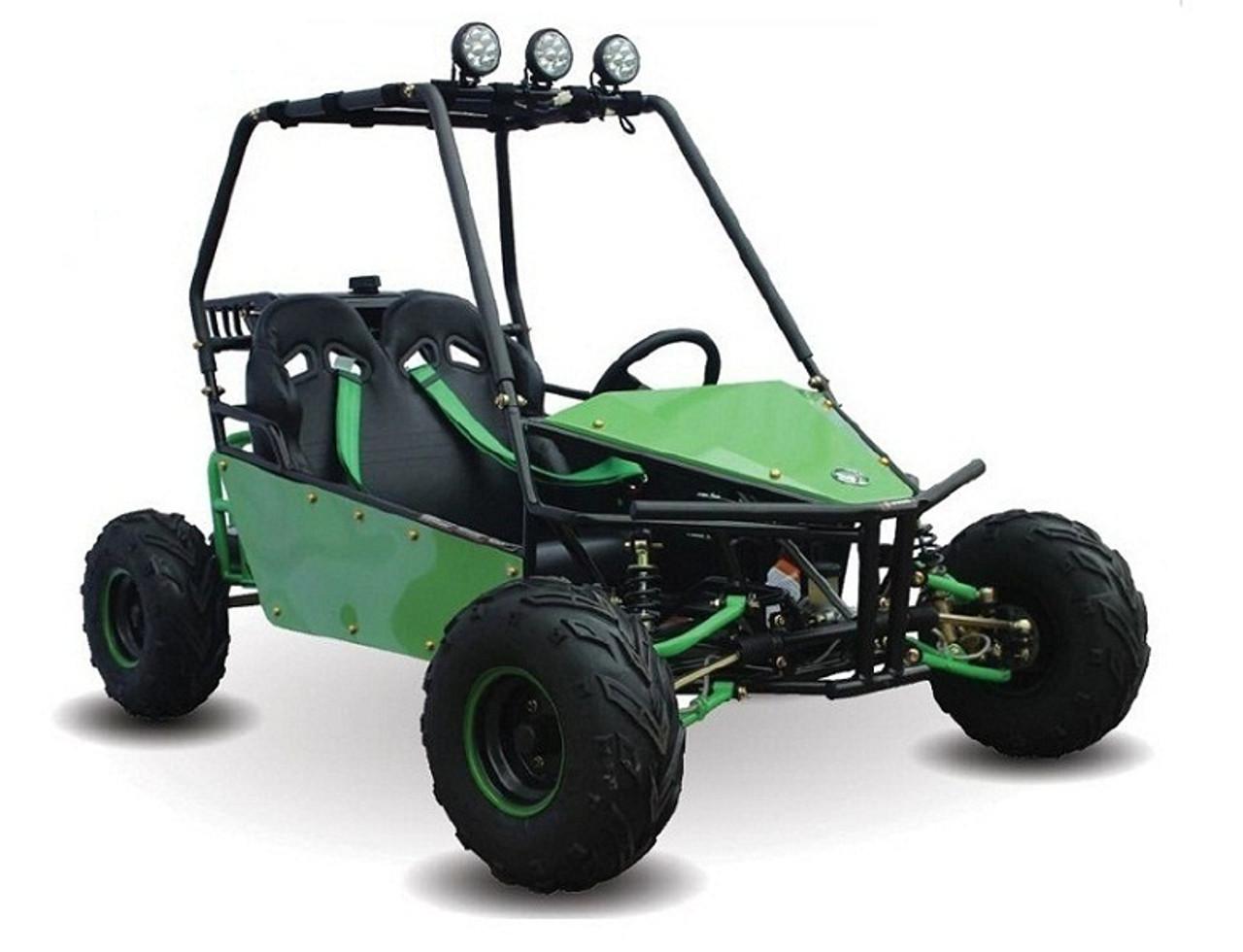 2018 KANDI KD-125GKM 125CC 2-SEAT OFF-ROAD GAS GO KART