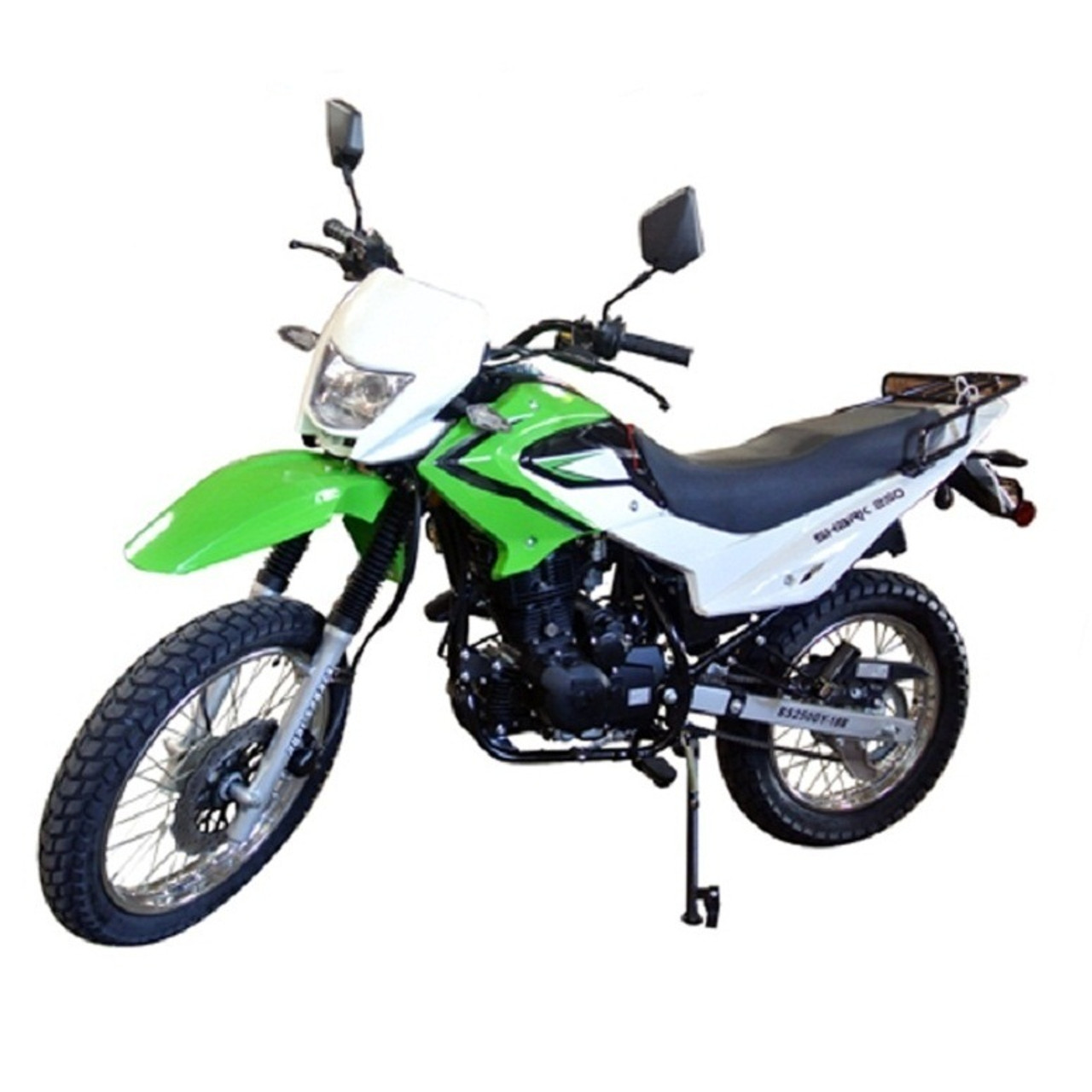 229cc Enduro Street Legal Dirt Bike 5 Speed Manual w/ Electric/Kick Start Air Cool Engine - Nduro Bike 18B