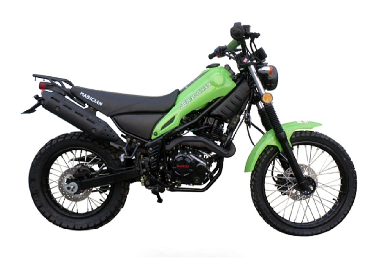IN STOCK NOW ! New Magician Dual Sports enduro dirt bike street legal dirt bike 250cc - Fully Assembled And Tested