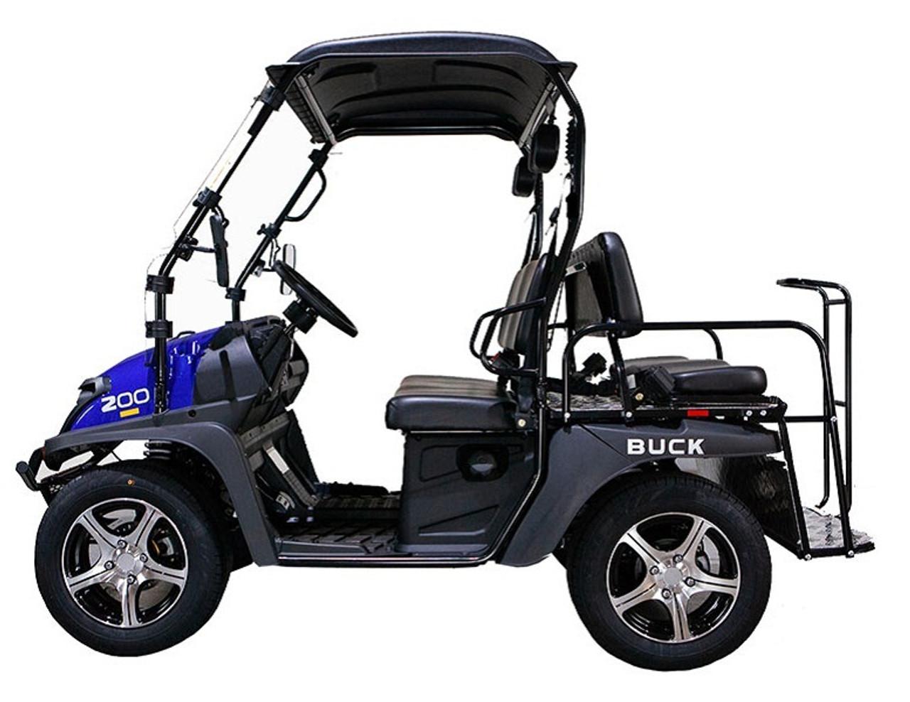 BLUE - MASSIMO BUCK 200X UTV, 177cc Four-Stroke, Single Cylinder