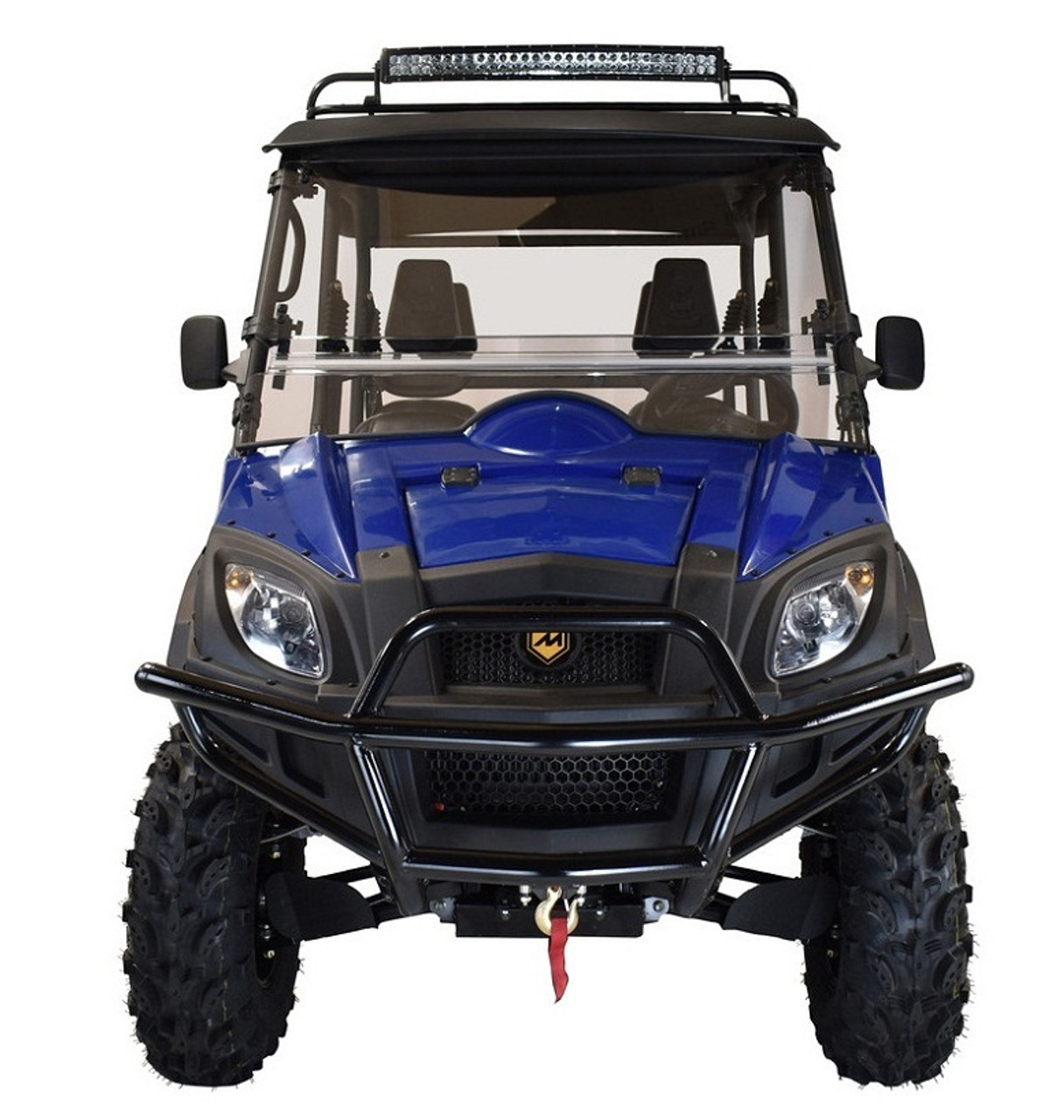 Blue - MASSIMO MSU-850-5 UTV,Four Stroke 2 Cylinder V-Twin,Liquid Cooled