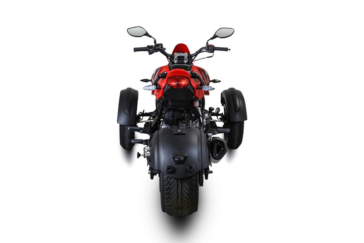 MASSIMO SPIDER 200 MOTORCYCLE Four Stroke Single Cylinder