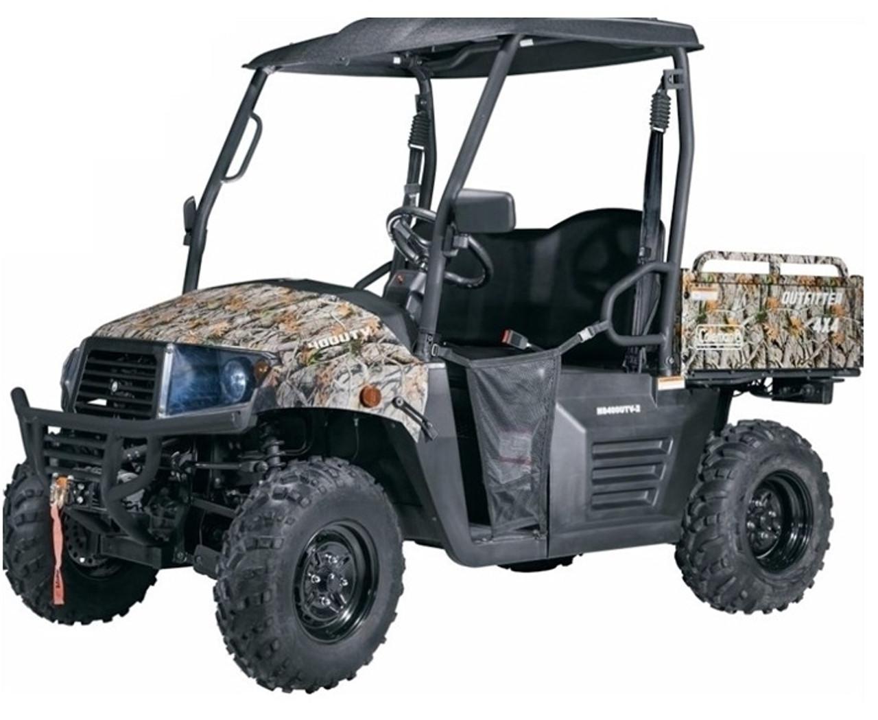Cazador Outfitter 400 4x4 UTV EFI engine
