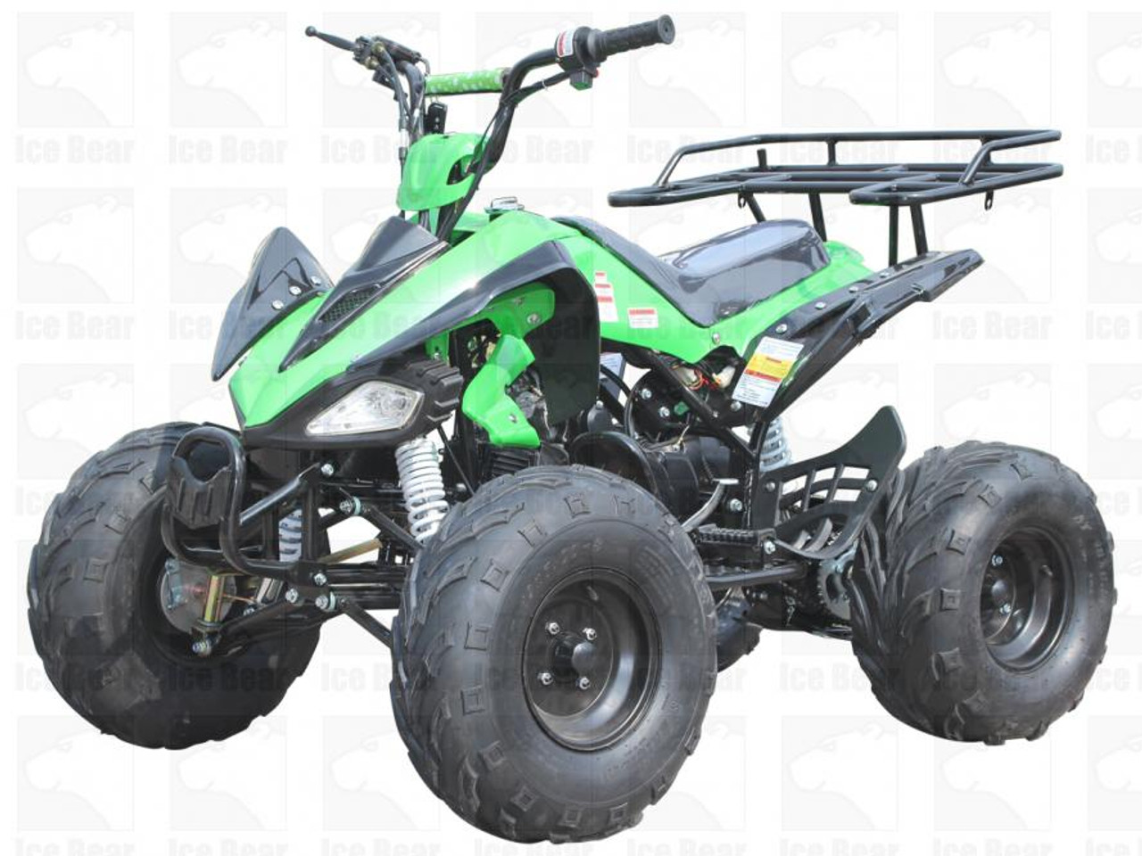 "ICE BEAR 125cc ""Big Cat"" ATV Automatic with Reverse"