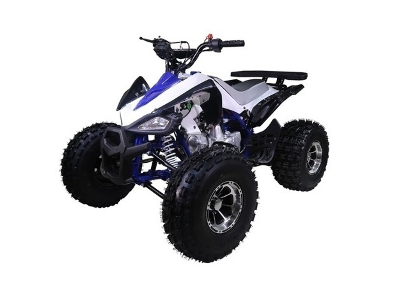TAOTAO 125CC NEW CHEETAH Mid Size ATV, Automatic with Reverse, Air cooled, 4-Stroke, 1-Cylinder - Fully Assembled and Tested