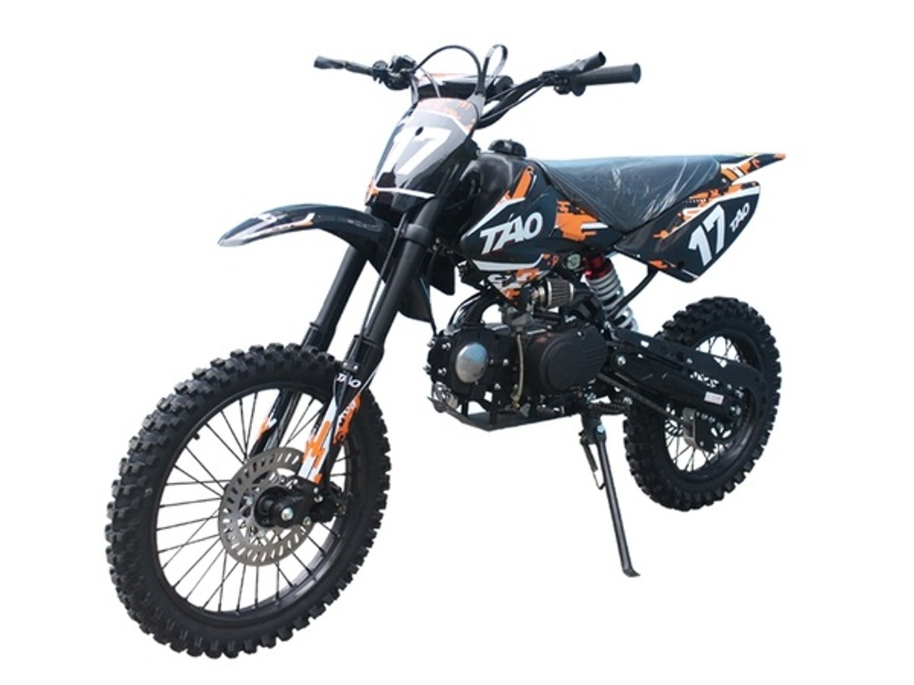 "Taotao High End Dirt Bike 17 125CC Big With 17"" Tires, Air Cooled, 4-Stroke, 1-Cylinder - Fully Assembled And Tested"