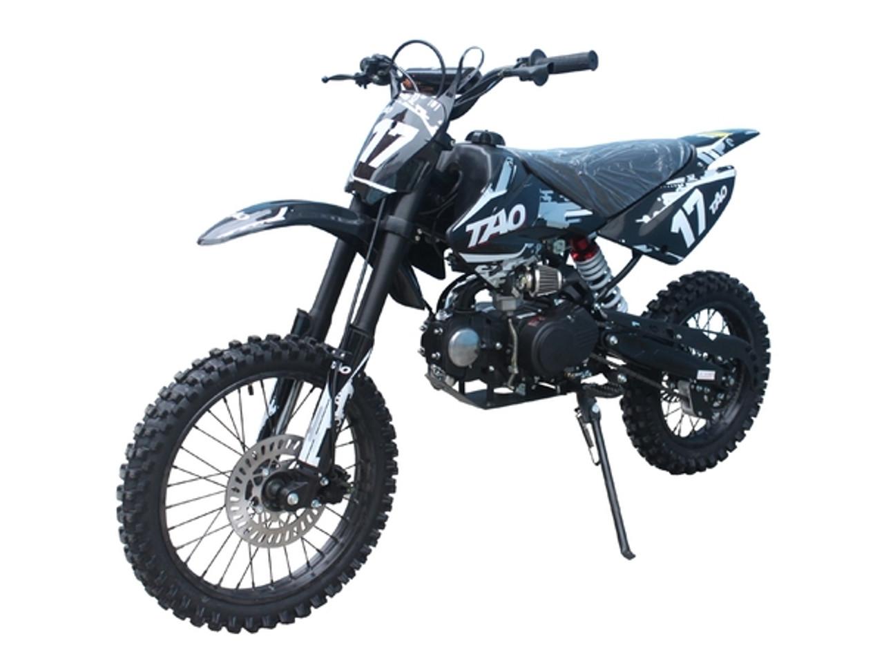 "Taotao High End Dirt Bike 17 125CC Big With 17"" Tires, Air Cooled, 4-Stroke, 1-Cylinder"